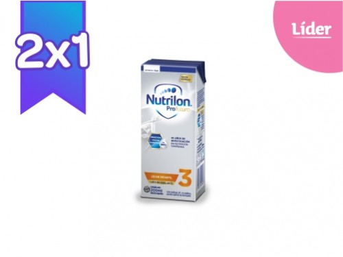 2X1 Nutrilon 3 Profutura Brick 200 ml