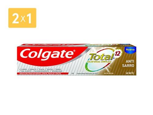 COLGATE CREMA TOTAL 12 CONTROL SARRO 90 GR