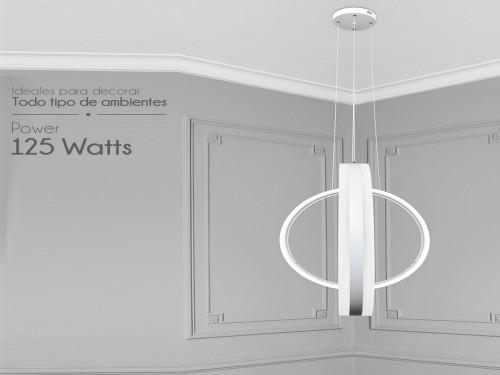 Lampara Diseño Elegante Colgante Led 125w Calida / Fria Led