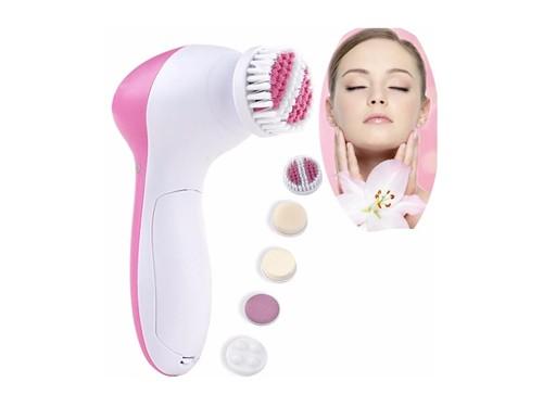 Beauty Care Massager: 5 en 1 Exfoliante Masajeador Facial