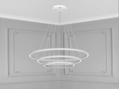 Lampara Led Diseño Elegante Colgante Led 110w Calida / Fria