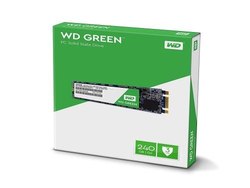 DISCO SSD M2 240GB WESTERN DIGITAL GREEN