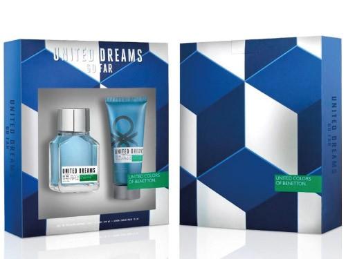 Benetton - United Dreams Go Far EDT 100 ml + After Balm