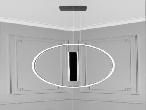Lampara Led Diseño Elegante Colgante Led 125w Calida / Fria