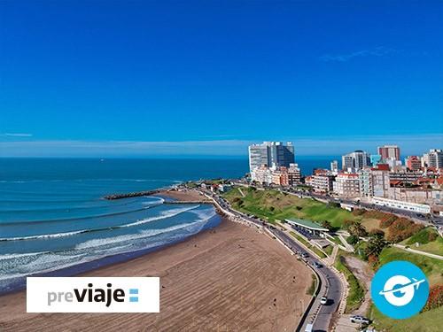 Paquete Mar del Plata: Bus + Hotel + Seguro. Desayuno (Argentina)