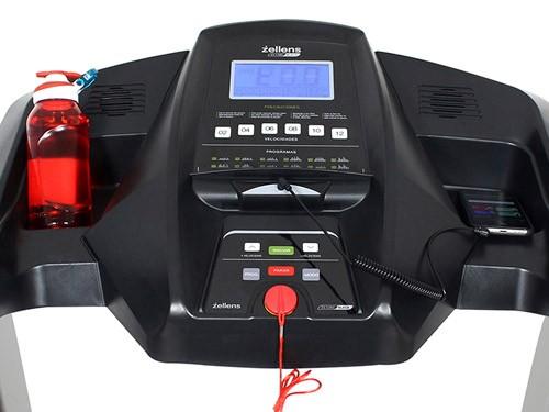 Cinta p/ correr c/inclinación 4.0 hpp mod. 2020 Zellens ZS-1380 Black
