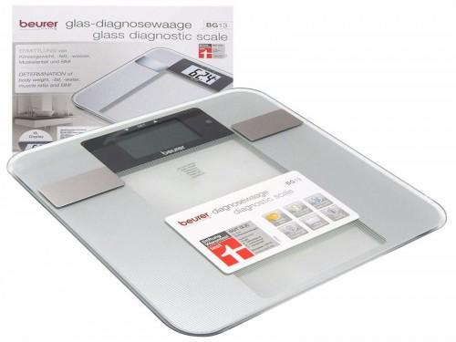 Beurer Bg 13 Balanza Personal Digital Diagnóstico Alta Gama