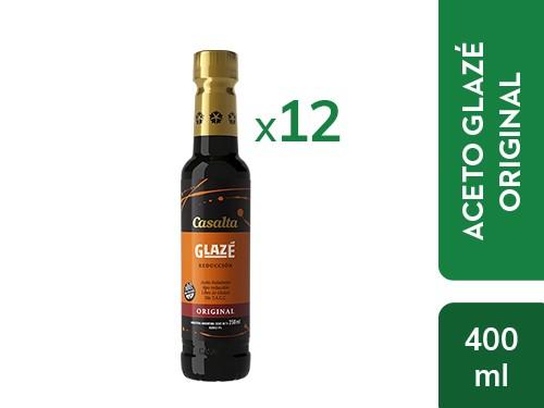 ¡30% OFF! 12 un. Aceto Glazé Tipo Reducción 250ml