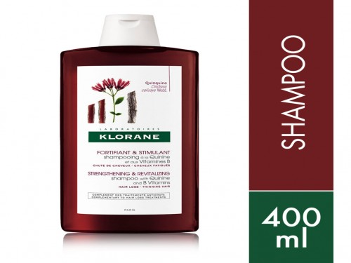 Quinina Shampoo Anticaída Fortificante X 400 Ml