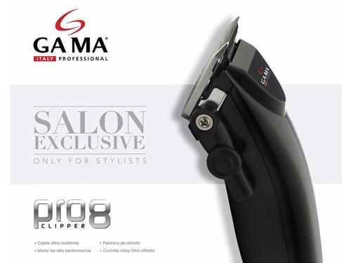 Maquina de Cortar Pelo Profesional Gama Italy Pro 8 Clipper