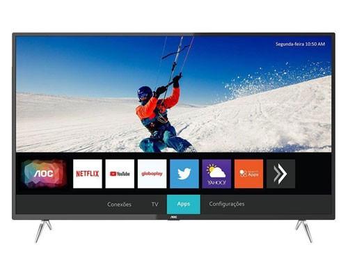 "SMART TV 50"" 4K ULTRA HD NETFLIX AOC 50U6295"