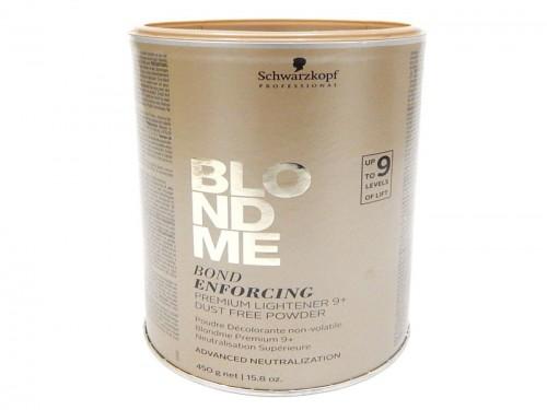 Schwarzkopf Blondme Polvo Decolorante Bond Enforcing 450 Grs
