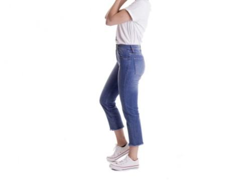 Jean Mujer Claudia Pantalon Tiro Alto