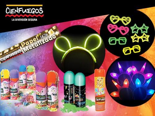 Combo Fiesta -Cotillón LED, Nieve, Serpentina y más!-