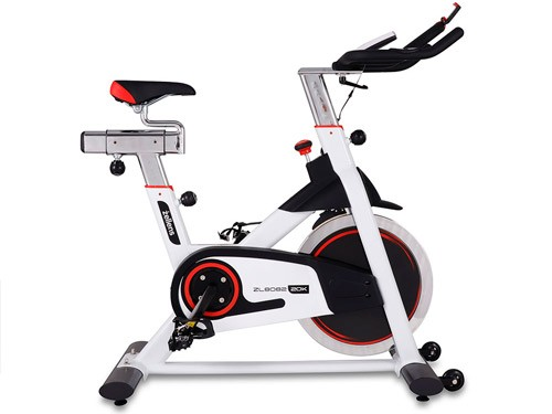 Bicicleta indoor profesional c/ rueda inercial 20 kg. Zellens ZL-8082