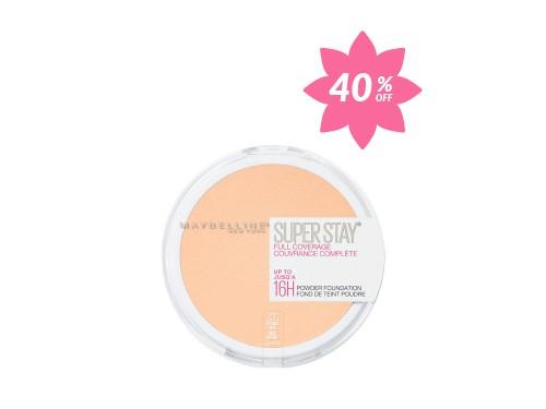 Maquillaje en Polvo Larga Duración Superstay Full Coverage Maybelline