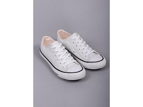 Zapatillas Lona Alonzo blanca