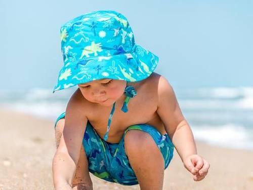 Sombrero con PROTECCIÓN SOLAR UPF+50 Tortuga - GreenSprouts