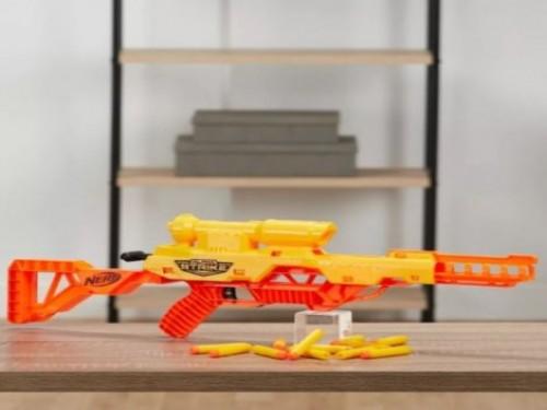 Pistola Nerf Alpha Strike Wolf LR-1
