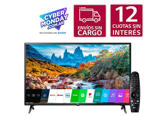 43´´ LG Ultra HD Smart TV