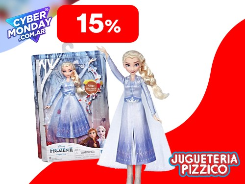 Muñeca Elsa-Anna Frozen 2 Canta Melodia Hasbro