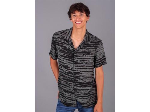 Camisa Hombre Acapulco Manga Corta