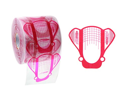 3 Geles de Construcción UV/LED 30ml+ Molde Mariposa 500pcs Cherimoya