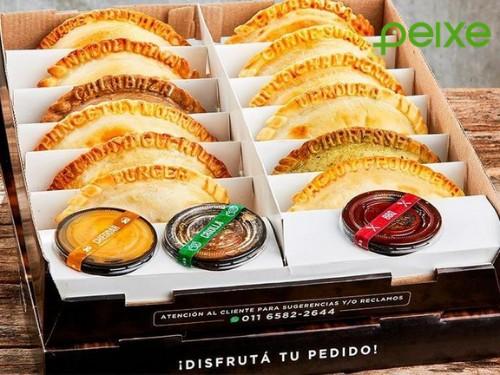 Docenas de empanadas + salsas con opción a delivery en Mi Gusto