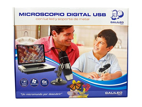 Microscopio Digital USB 500X - Galileo