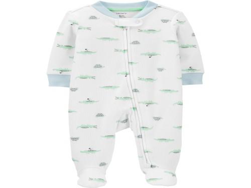 Pijama Osito de algodón con cierre Caimanes Carter´s