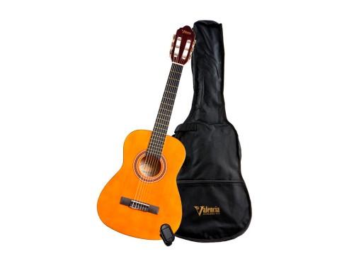 Guitarra Clasica Valencia VC104K c/Funda y Afinador