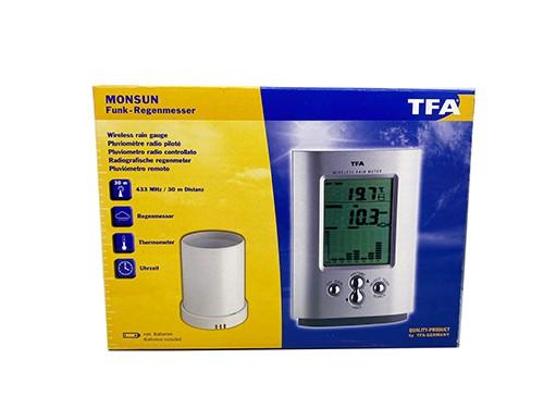 Pluviómetro Digital con Sensor Remoto TFA