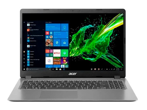 Notebook Intel I5 1035g1 8gb 256gb Ssd 15.6 Windows 10 Acer