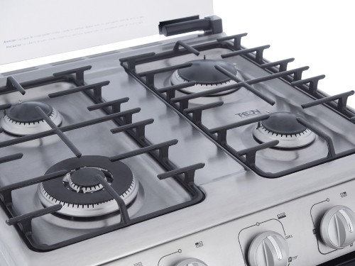 Cocina a gas 60 cm Inoxidable con Grill GE Appliances - CG760I