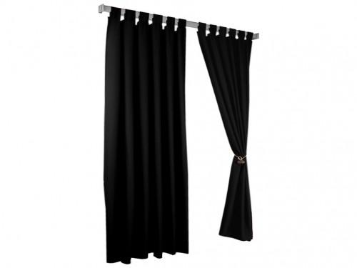 cortinas living comedor tela lavable 2 paños presillas para barral