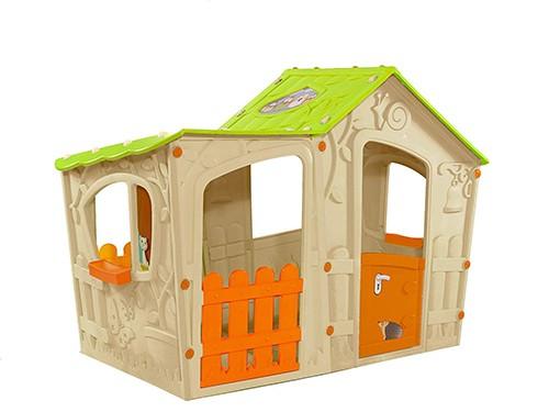 Casa De Juegos Infantil Jardin e Interior Keter Magic Villa