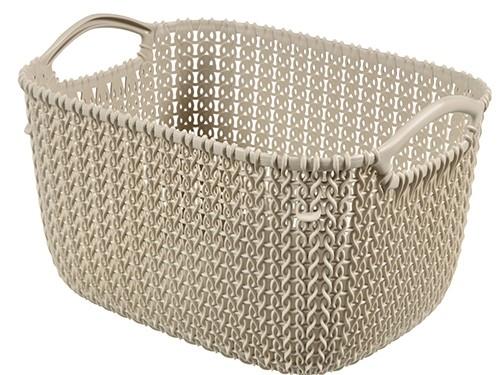Set x3 Canastos Plasticos Organizadores Keter Knit L