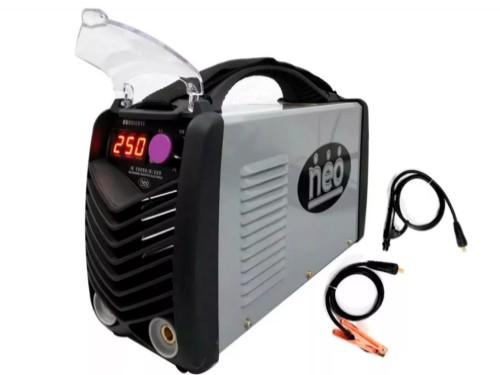 Soldadora Inverter Neo 250 Amp Profesional Industrial Con Display Dig