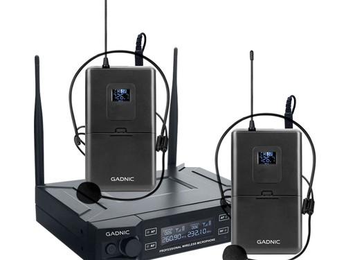 Microfono Inalámbrico Corbatero Profesional GADNIC