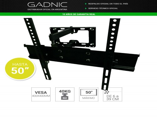 Soporte Tv LCD/LED Gadnic SP8  Hasta 50""