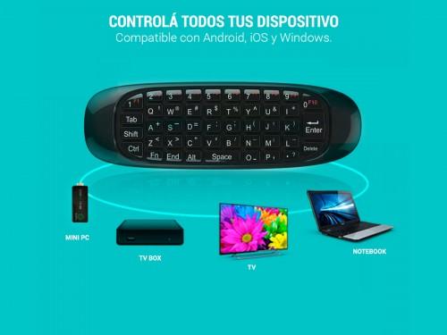 Teclado Air Mouse Pro Gadnic
