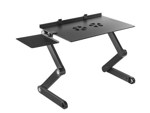 Mesa Notebook Gadnic regulable con cooler Desk711