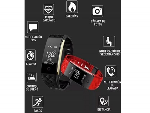 Smartwatch Reloj E Band Inteligente Agua Premium Android Ios
