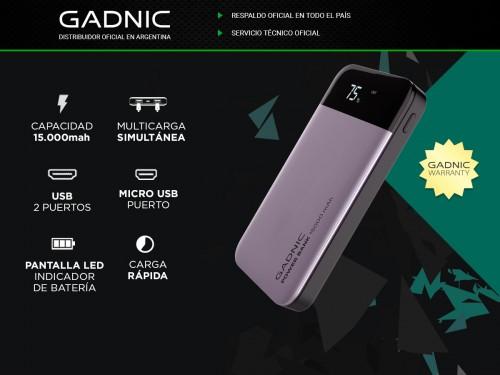 Power Bank Gadnic 15000 mAh