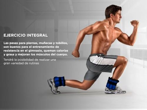 Par De Tobilleras Gadnic 10Kg Total Fitnes Reforzada