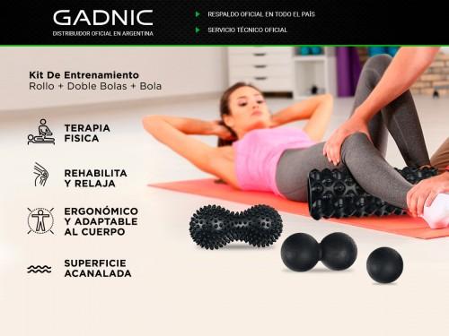 Kit De Entrenamiento Gadnic Rollo + Doble Bola + Bola Pie + Bola