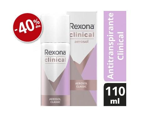 Rexona Desodorante Clinical x110ml Mujer Classic