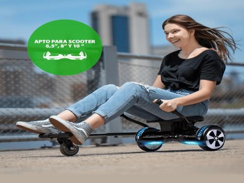 """Go Kart Hoverboard - Karting para Scooter Balance de 6,5"""", 8"""" y 10"""""""