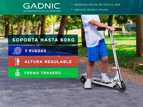Monopatin Gadnic 3 Ruedas de Metal Reforzado