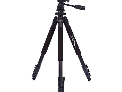 Tripode Gadnic Profesional Camara Nikon Canon Reflex + Cabezal